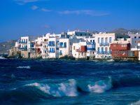 Mykonos Adası - Deniz